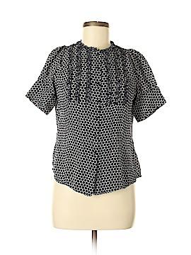 Anne Klein Short Sleeve Silk Top Size 8 (Petite)