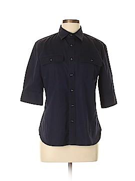 Ralph Lauren 3/4 Sleeve Button-Down Shirt Size 12