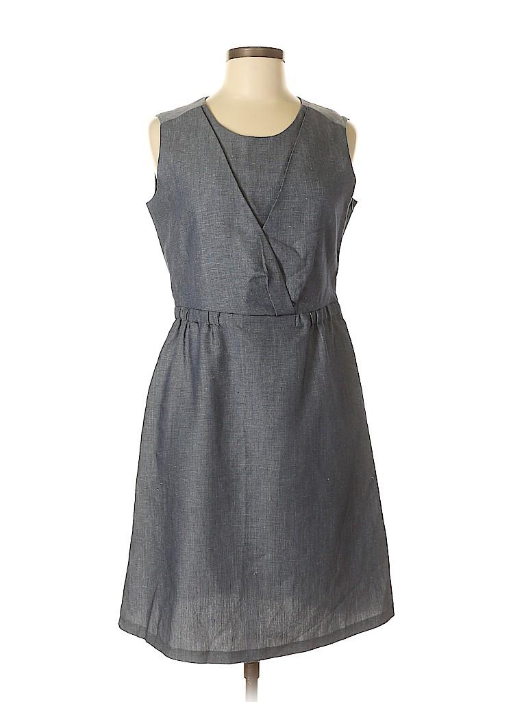 e8bebbcbee Kookai Solid Dark Blue Casual Dress Size 40 (EU) - 92% off