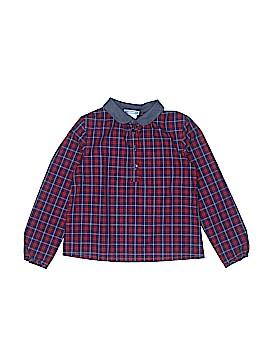 Jacadi Long Sleeve Button-Down Shirt Size 5