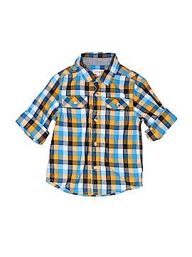Cat & Jack Short Sleeve Button-Down Shirt Size 4T