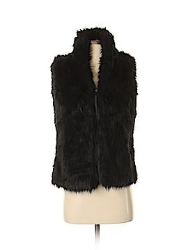 G by Giuliana Rancic Faux Fur Vest Size XS