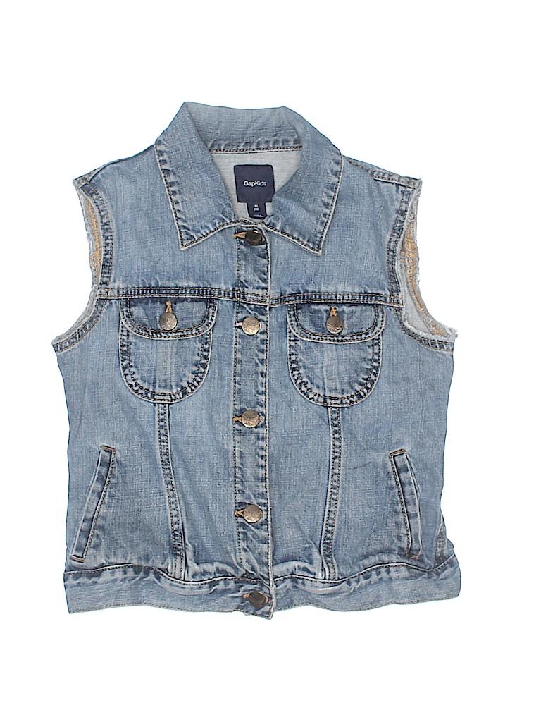 Gap Kids Girls Denim Vest Size 12