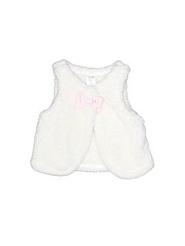 Carter's Faux Fur Vest Size 12 mo