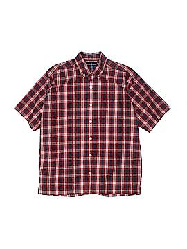 Ralph by Ralph Lauren Short Sleeve Button-Down Shirt Size M (Youth)