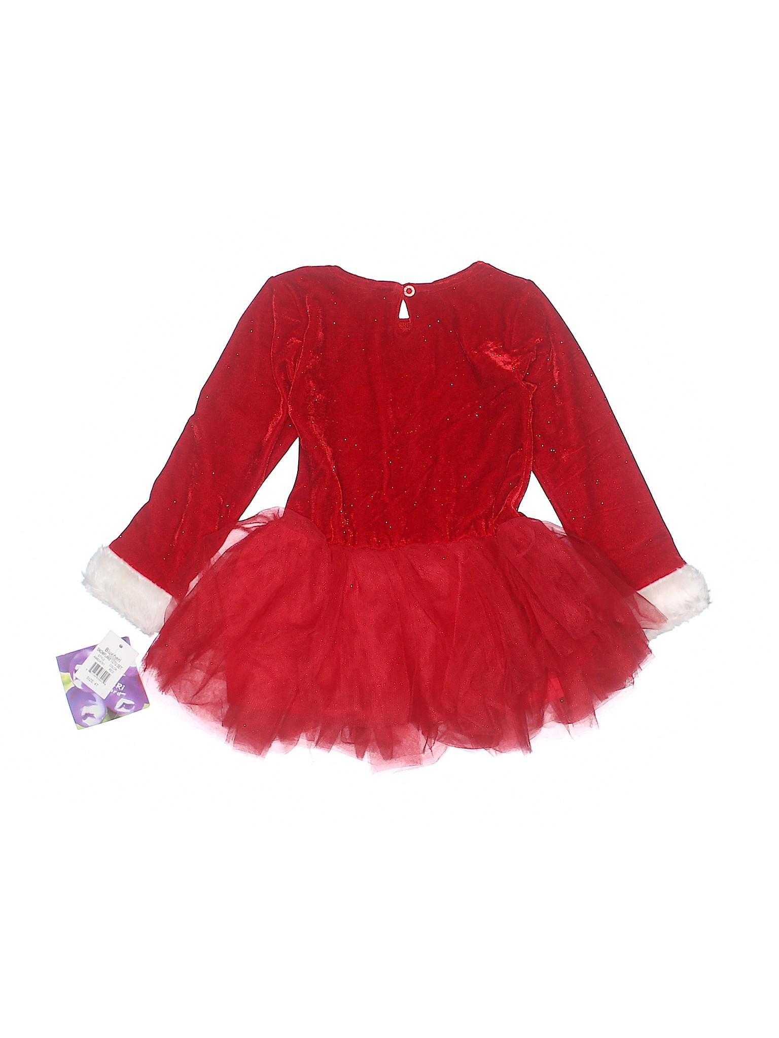 2da4f28b Blueberi Boulevard Graphic Red Dress Size 4T - 64% off | thredUP