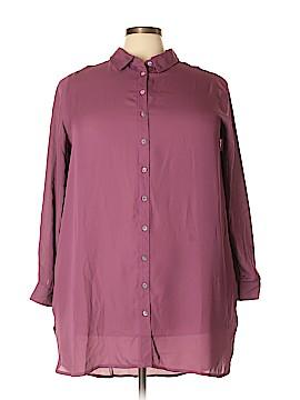 Roaman's Long Sleeve Blouse Size 22W (Plus)