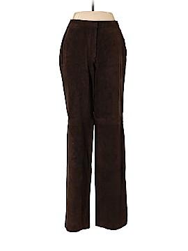 INC International Concepts Leather Pants Size 6