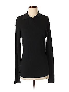 Armani Collezioni Long Sleeve Silk Top Size M