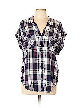 Jach's Girlfriend Short Sleeve Button-Down Shirt Size XL