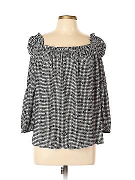 CeCe 3/4 Sleeve Blouse Size L