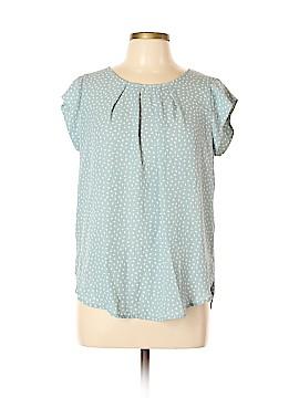 Sweet Rain Short Sleeve Blouse Size L
