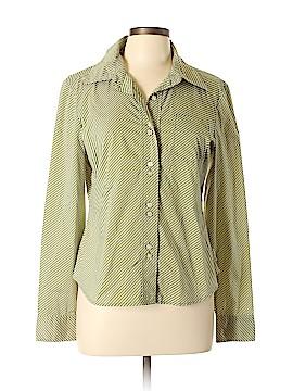 CALVIN KLEIN JEANS Long Sleeve Button-Down Shirt Size L