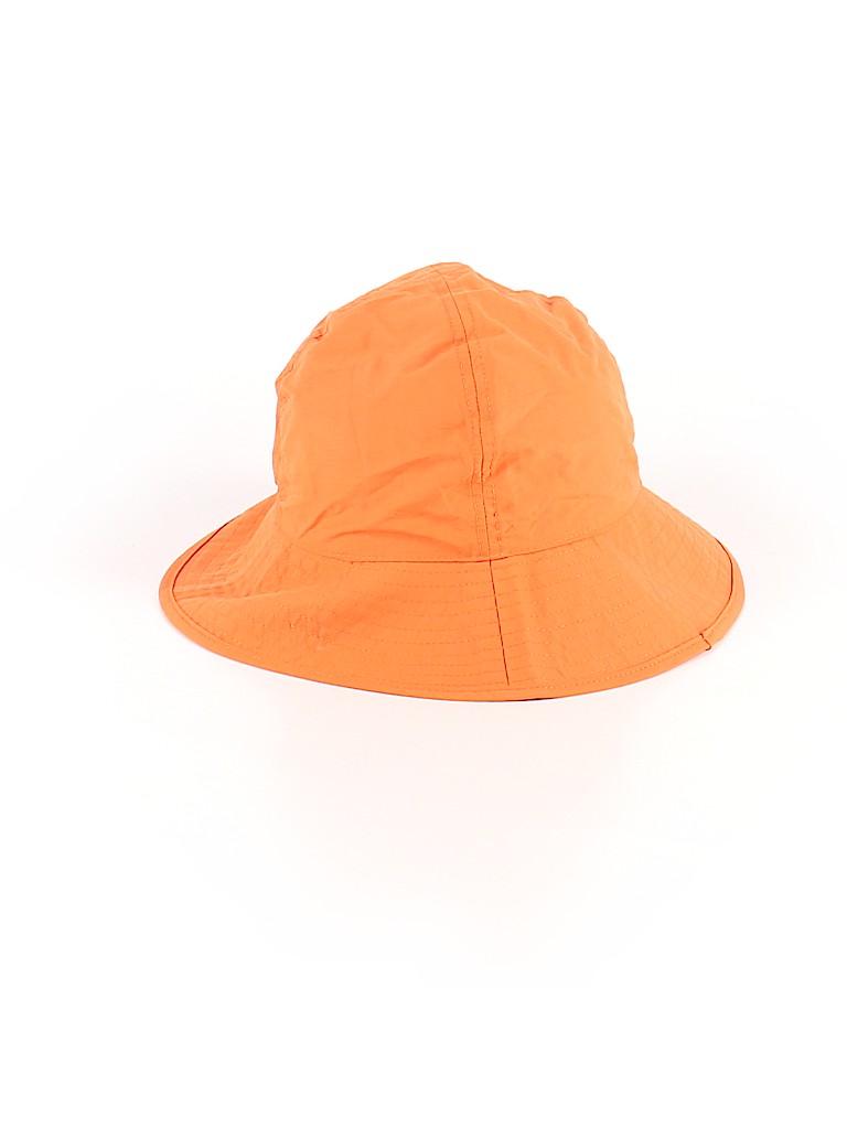 Lands  End Solid Orange Bucket Hat Size S (Kids) - 41% off  376b20276ca