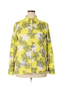 Foxcroft Long Sleeve Blouse Size 14