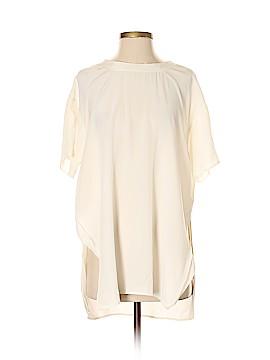 Equipment Short Sleeve Silk Top Size P