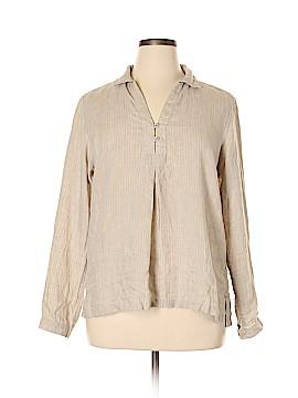 Ines de la Fressange for Uniqlo Long Sleeve Blouse Size XL