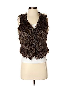 Ambiance Apparel Faux Fur Vest Size S