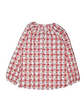 Lands' End Long Sleeve Button-Down Shirt Size 14