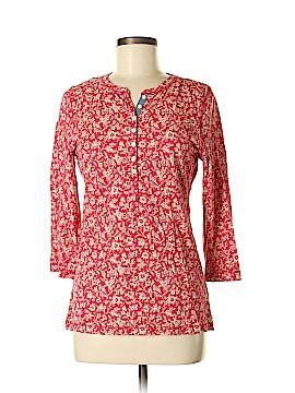 L-RL Lauren Active Ralph Lauren 3/4 Sleeve Henley Size M
