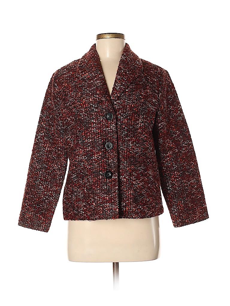 Alfred Dunner Women Blazer Size 10 (Petite)