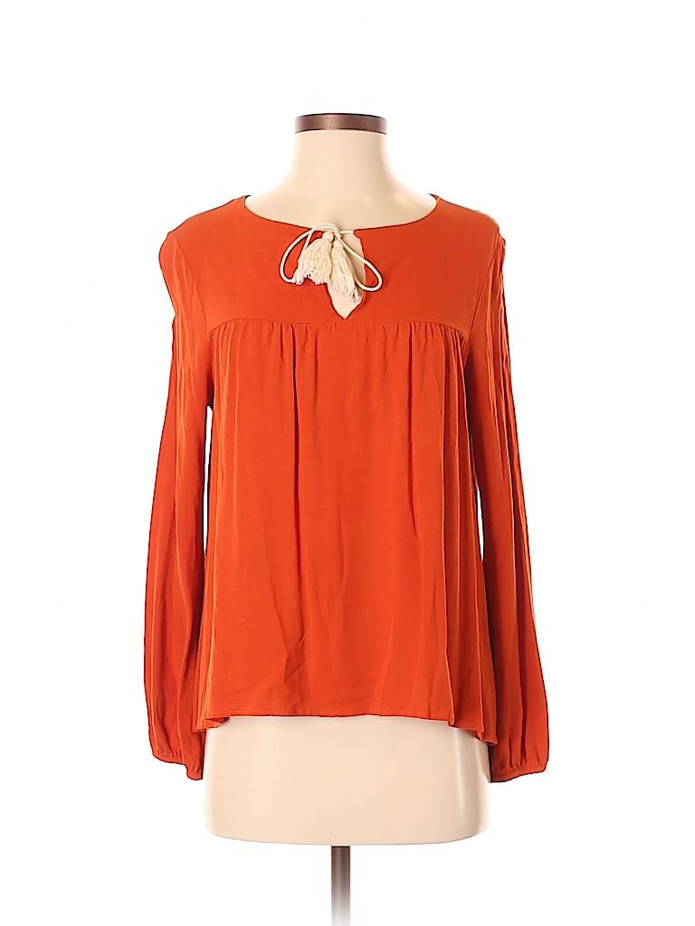 Interi Women Long Sleeve Blouse Size M