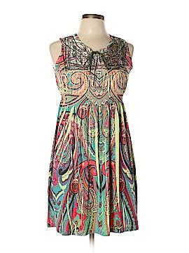 One World Casual Dress Size L (Petite)