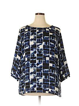 Sejour 3/4 Sleeve Blouse Size 1X (Plus)