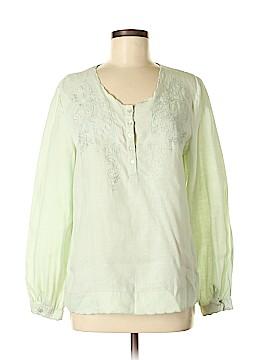 J. Peterman Long Sleeve Button-Down Shirt Size M