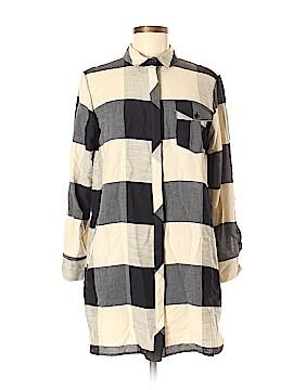 Topshop Long Sleeve Button-Down Shirt Size 6 (Petite)