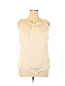 Classiques Entier Sleeveless Silk Top Size XL