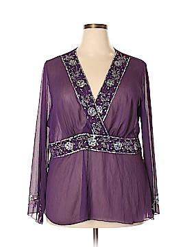 Venezia Long Sleeve Blouse Size 18 Plus (3) (Plus)
