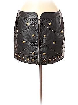 Ladakh Faux Leather Skirt Size 6