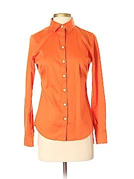Banana Republic Factory Store Long Sleeve Button-Down Shirt Size 4