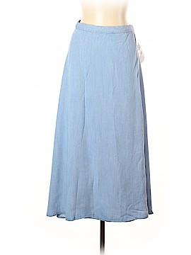 Chaps Denim Skirt Size L