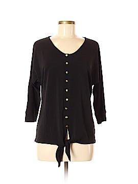 Draper's & Damon's 3/4 Sleeve Blouse Size M