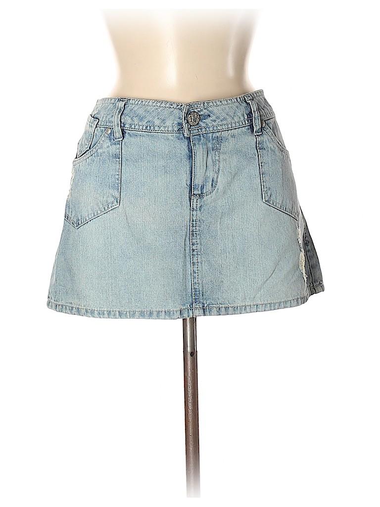 So Wear It Declare it Women Denim Skirt Size 11
