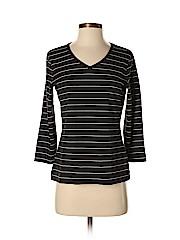 Amber Sun Women 3/4 Sleeve T-Shirt Size S