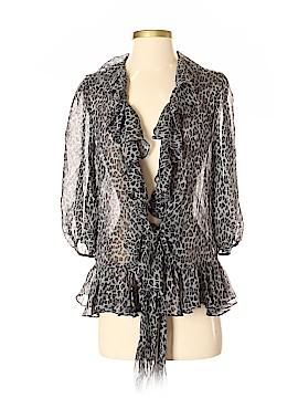 Lauren by Ralph Lauren 3/4 Sleeve Silk Top Size S
