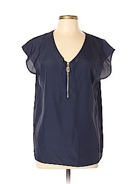 MICHAEL Michael Kors Short Sleeve Blouse Size L