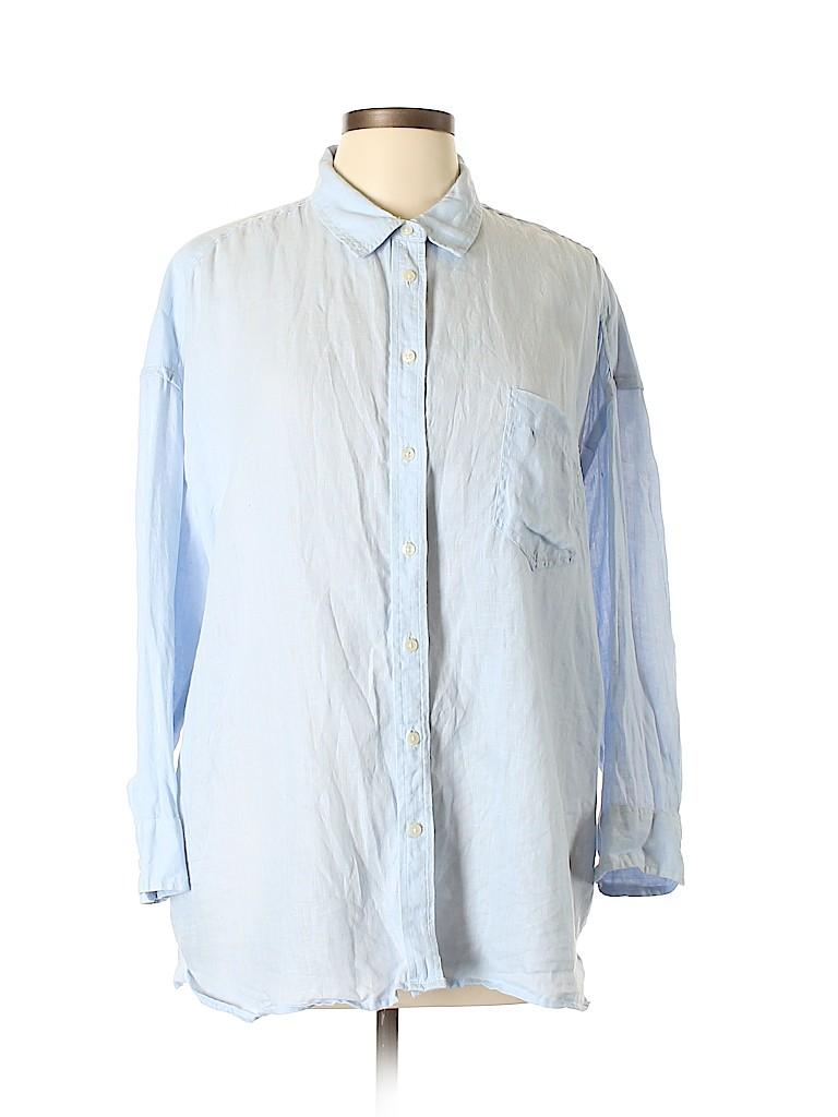 da587867c Womens Linen Button Down Shirt