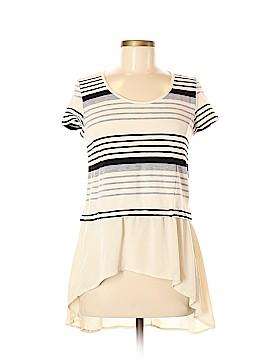 Deletta Short Sleeve Top Size M (Petite)