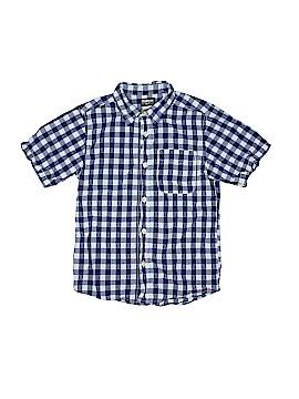 OshKosh B'gosh Short Sleeve Button-Down Shirt Size 7
