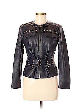 MICHAEL Michael Kors Leather Jacket Size 6