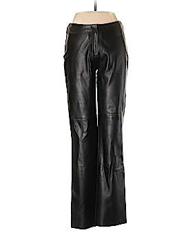 Bebe Leather Pants Size 8