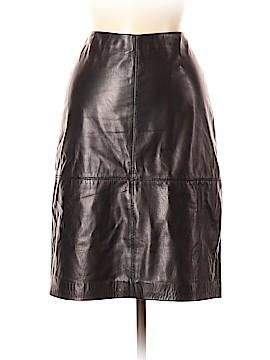 Talbots Leather Skirt Size 6 (Petite)