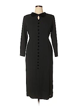 Casual Corner Casual Dress Size 14 (Petite)