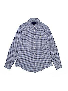 Ralph Lauren Long Sleeve Button-Down Shirt Size M (Youth)