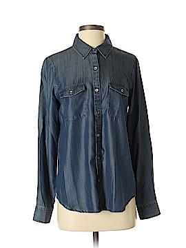 White House Black Market Long Sleeve Button-Down Shirt Size 4