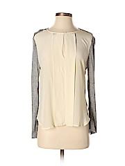 Babaton Long Sleeve Silk Top
